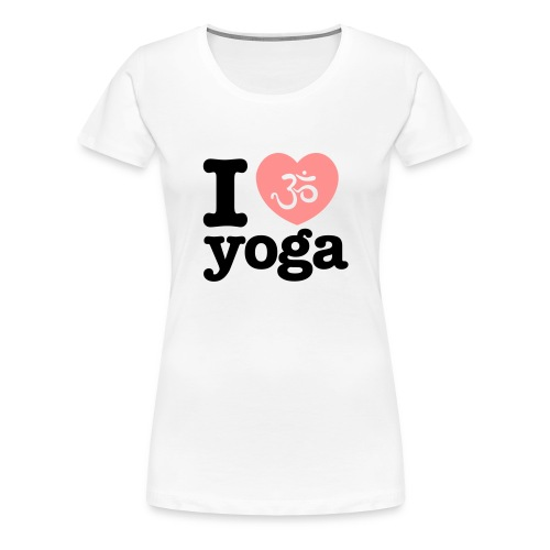 yoga tshirt - Vrouwen Premium T-shirt