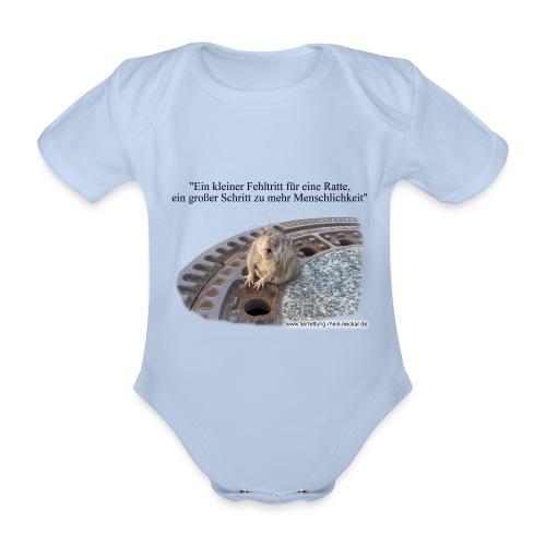 Rat-Body - Baby Bio-Kurzarm-Body