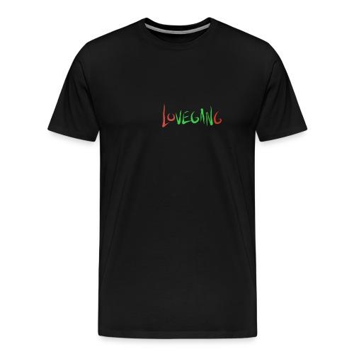 Lovegang t-shirt - Miesten premium t-paita