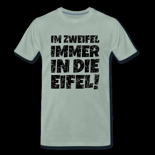 Im Zweifel immer in die Eifel! (Vintage Schwarz) - Männer Premium T-Shirt