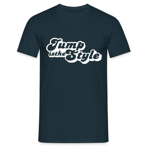 Mannen T-shirt - heren shirt jumpisthestyle