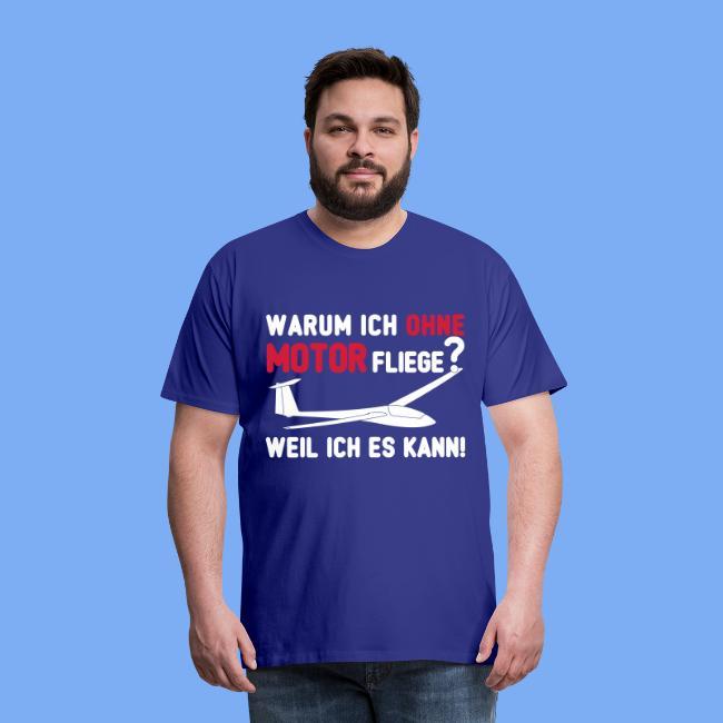 Segelflieger T-Shirt Spruch Geschenk