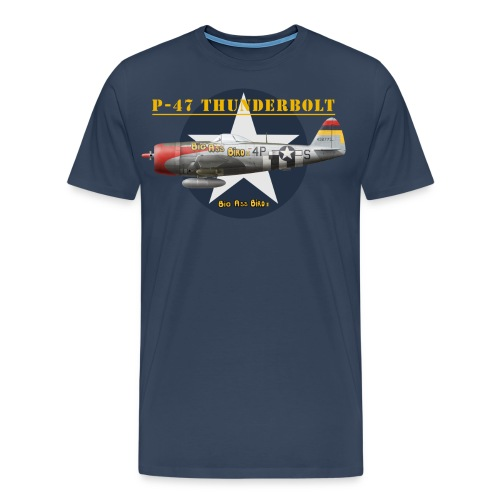 F4U-5P Corsair, VC-61, US Navy - Men's Premium T-Shirt