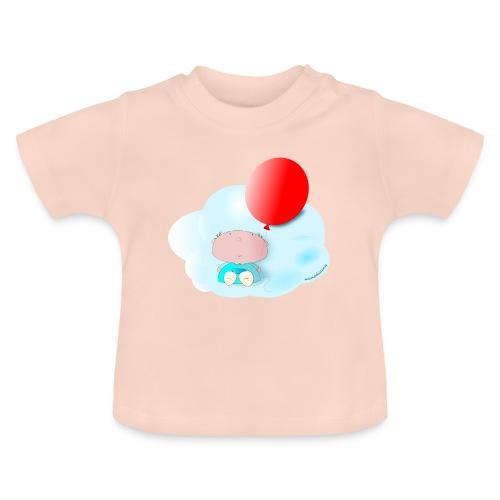 Petit amb globus - Camiseta bebé