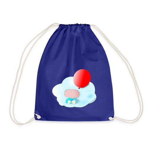 Petit amb globus - Mochila saco