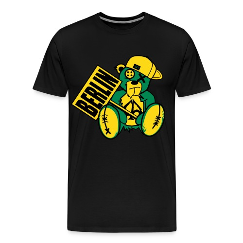 Flockfolie - Männer Premium T-Shirt
