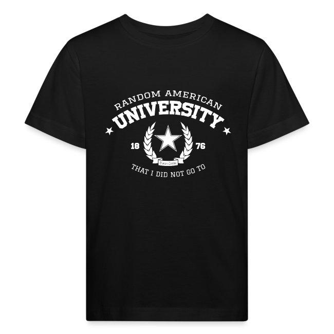 University kindershirt bio