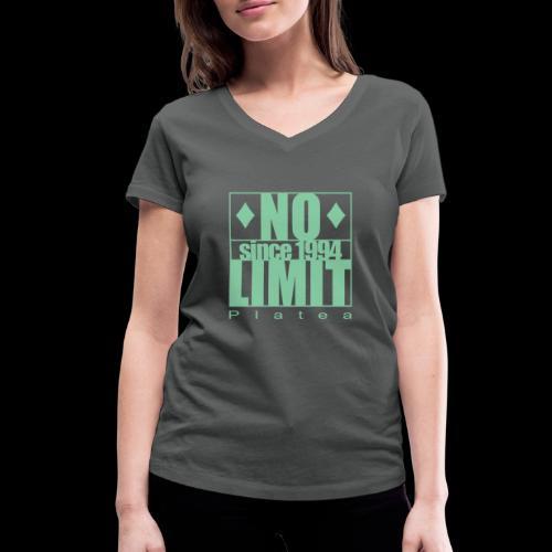 No Limit Tee Woman - Frauen Bio-T-Shirt mit V-Ausschnitt von Stanley & Stella