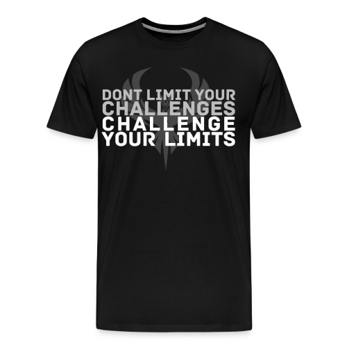 Challenge your limits Guys!  - Men's Premium T-Shirt