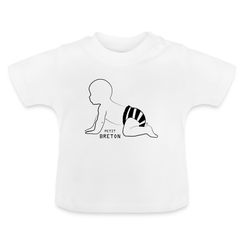 """T-shirt manches courtes Petit Breton"""" - T-shirt Bébé"""