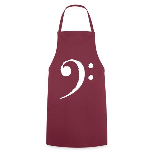 Delantal de cocinero - Clave de Fa - Delantal de cocina