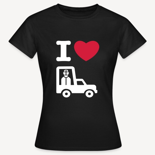 I LOVE..POPEMOBILE - Women's T-Shirt