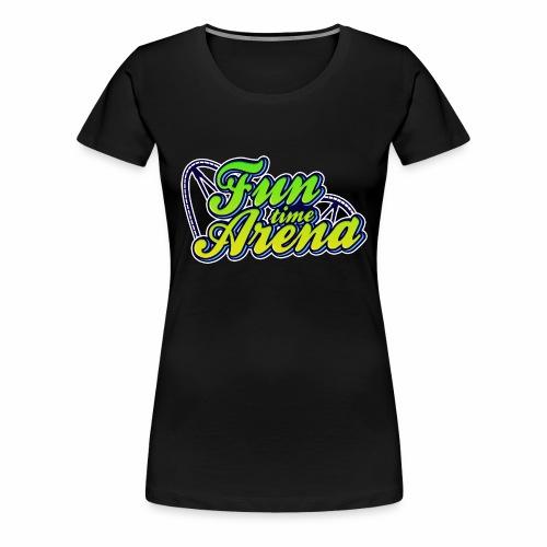 Girlie - FunTime Arena Schienen - Frauen Premium T-Shirt