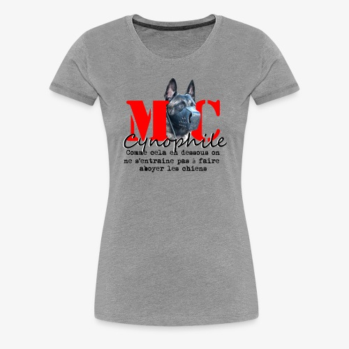 Maitre Chien - Female - Women's Premium T-Shirt