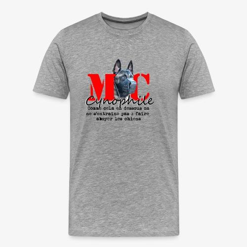 Maitre Chien - Male  - Men's Premium T-Shirt