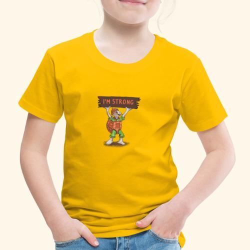 Schildkröte - Ich bin stark - Kinder Premium T-Shirt