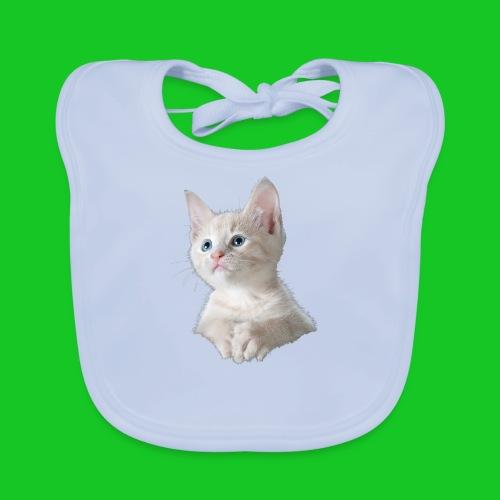Kitten poesje slabbetje - Bio-slabbetje voor baby's