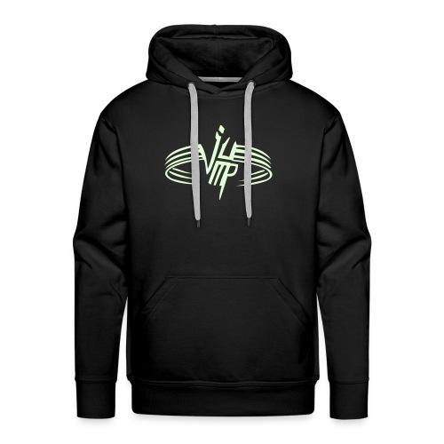 Mannen Premium hoodie - heren jumpletters