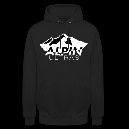 Alpin Ultras Hoodie (black) - Unisex Hoodie