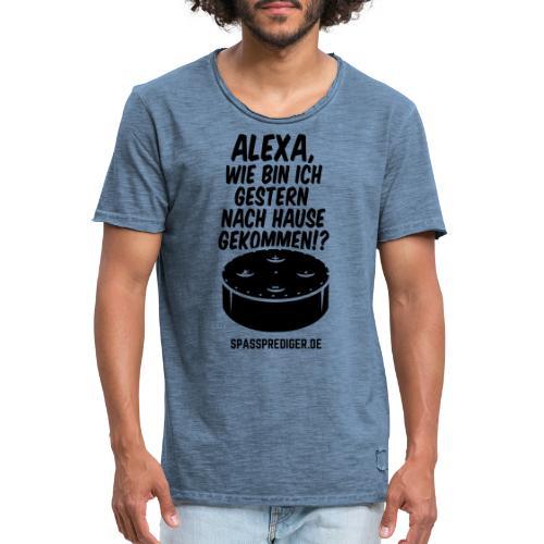 Männershirt - Männer Vintage T-Shirt