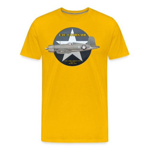 F4U-1 Corsair VMF-213 - Men's Premium T-Shirt