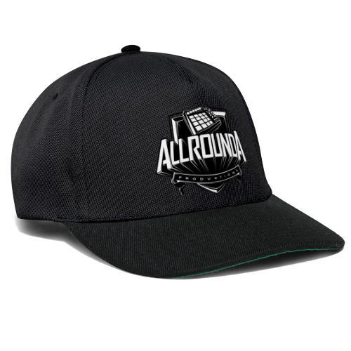 Snapback Cap Black - Allrounda Productions - Snapback Cap