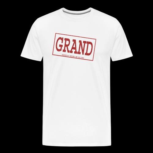 GRAND   (waltwide) - Men's Premium T-Shirt