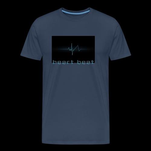 heartbeat  (ww) - Men's Premium T-Shirt