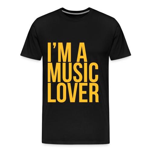 I'm A Music Lover - Men's Premium T-Shirt