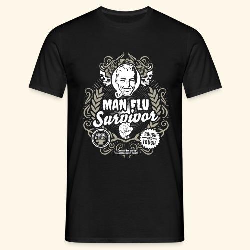 Man Flu Survivor T Shirt - Männer T-Shirt