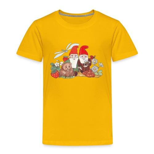 Zwerge im Garten  - Kindershirt - Kinder Premium T-Shirt