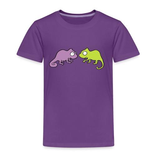 Chamäleon -Kindershirt - Kinder Premium T-Shirt