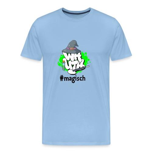 Herren T-Shirt WH-Mottologo #magisch - Männer Premium T-Shirt