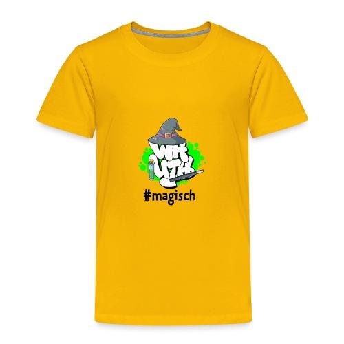 Kinder T-Shirt WH-Mottologo #magisch - Kinder Premium T-Shirt