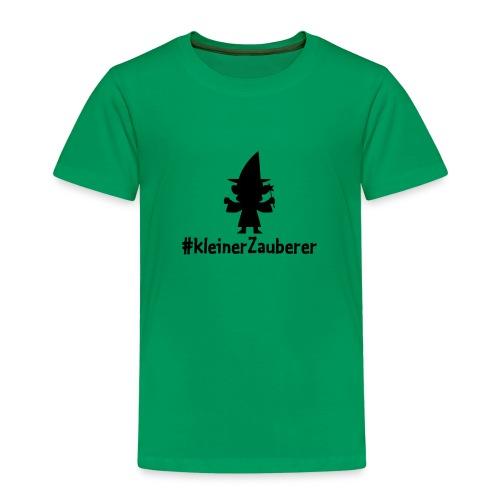 Jungs-Shirt (Kids) #kleinerzeuberer - Kinder Premium T-Shirt