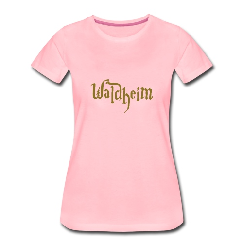 Golden Waldheim Girlie - Frauen Premium T-Shirt