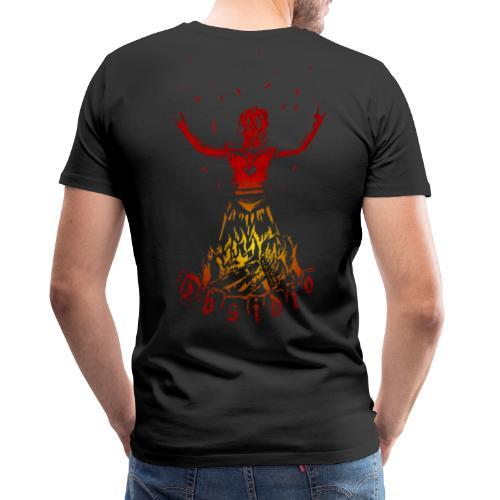 Männer Premium-TShirt - Obsidio Nexor (Front+Back) - Männer Premium T-Shirt