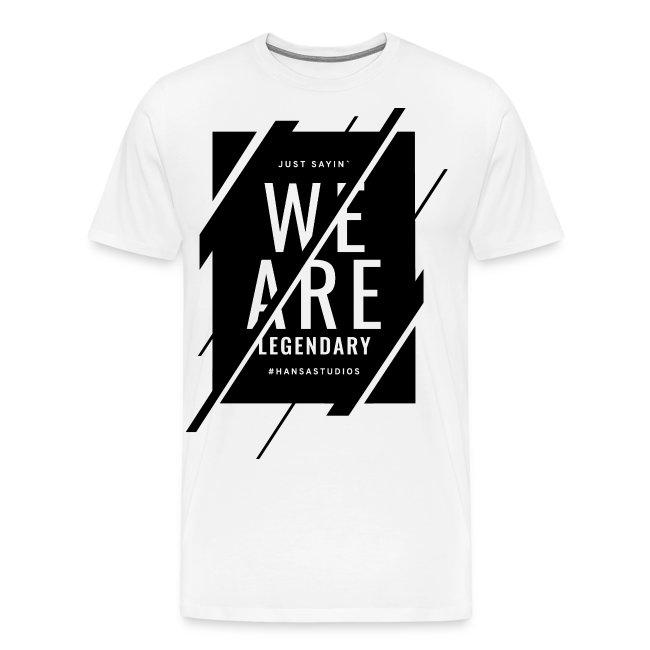 Hansa Studios T-Shirt   We Are Legendary White