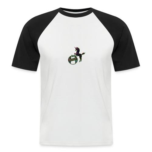 FC Psykologne Logo dark - Männer Baseball-T-Shirt