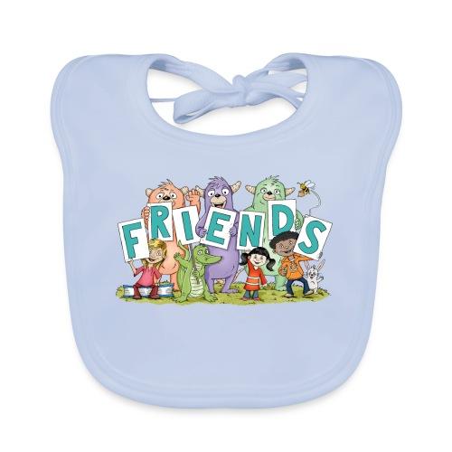 Monster-Friends - Baby-Bio-Lätzchen - Baby Bio-Lätzchen