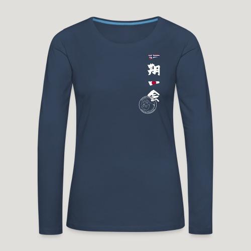 Straume Karateklubb - Vrouwen Premium shirt met lange mouwen