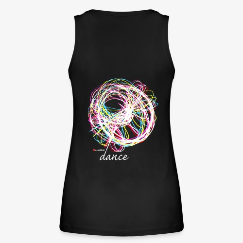 Colours of Dance - Frauen Bio Tank Top von Stanley & Stella