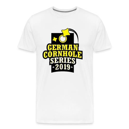 German Cornhole Series 2019 - MEN - Männer Premium T-Shirt