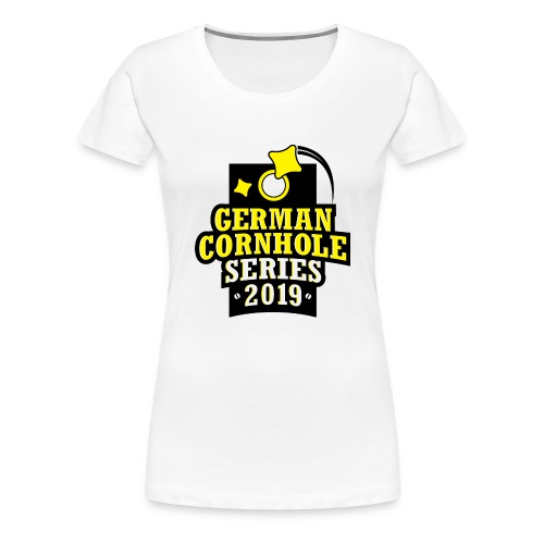German Cornhole Series 2019 - WOMEN - Frauen Premium T-Shirt