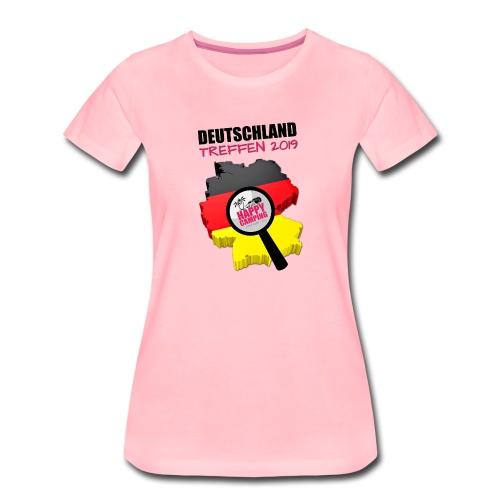 HC Deutschland Treffen 2019 - Ladies Shirt - Frauen Premium T-Shirt