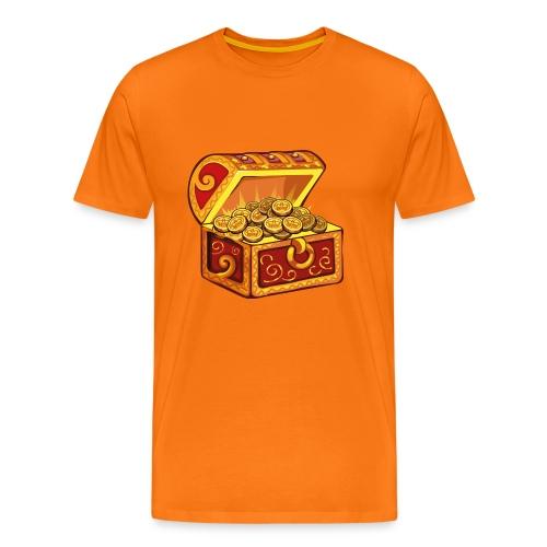 Koningsdag T-shirt met Schatkist print - Mannen Premium T-shirt