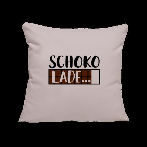 Lade Schoko Schokolade Kissenhülle - Sofakissenbezug 44 x 44 cm