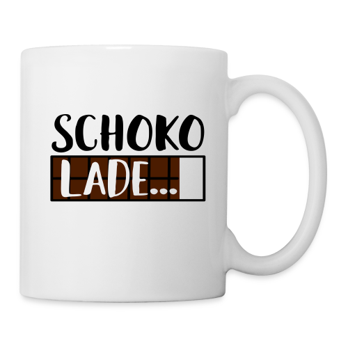 Lade Schoko Schokolade Tasse - Tasse