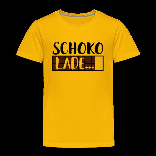 Lade Schoko Schokolade Kinder T-Shirt - Kinder Premium T-Shirt