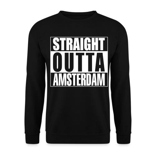 Straight outta Amsterdam - Mannen sweater